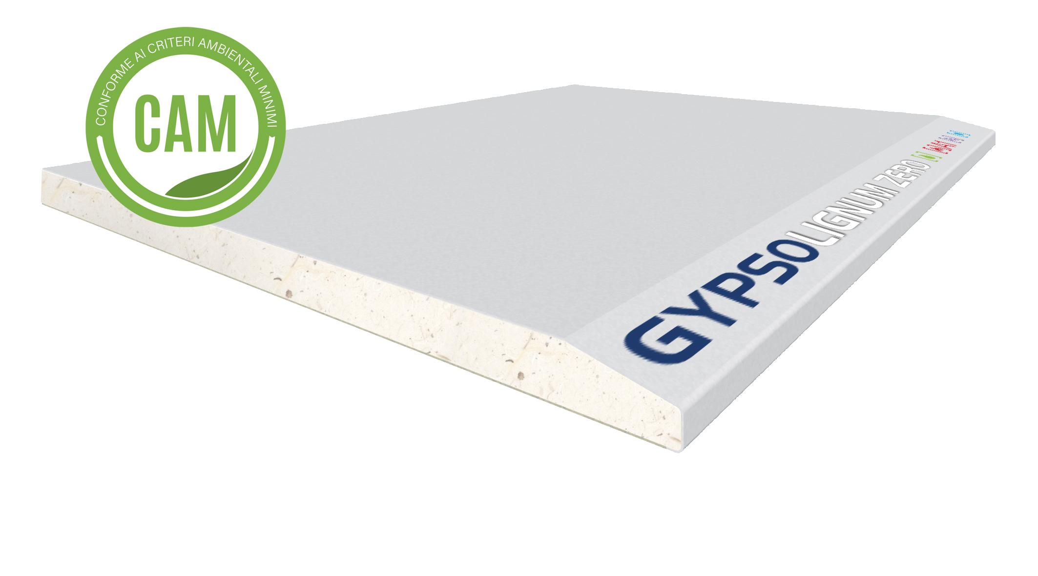 GYPSOTECH® GypsoLIGNUM ZERO TIPO DEFH1I: Lastra in cartongesso