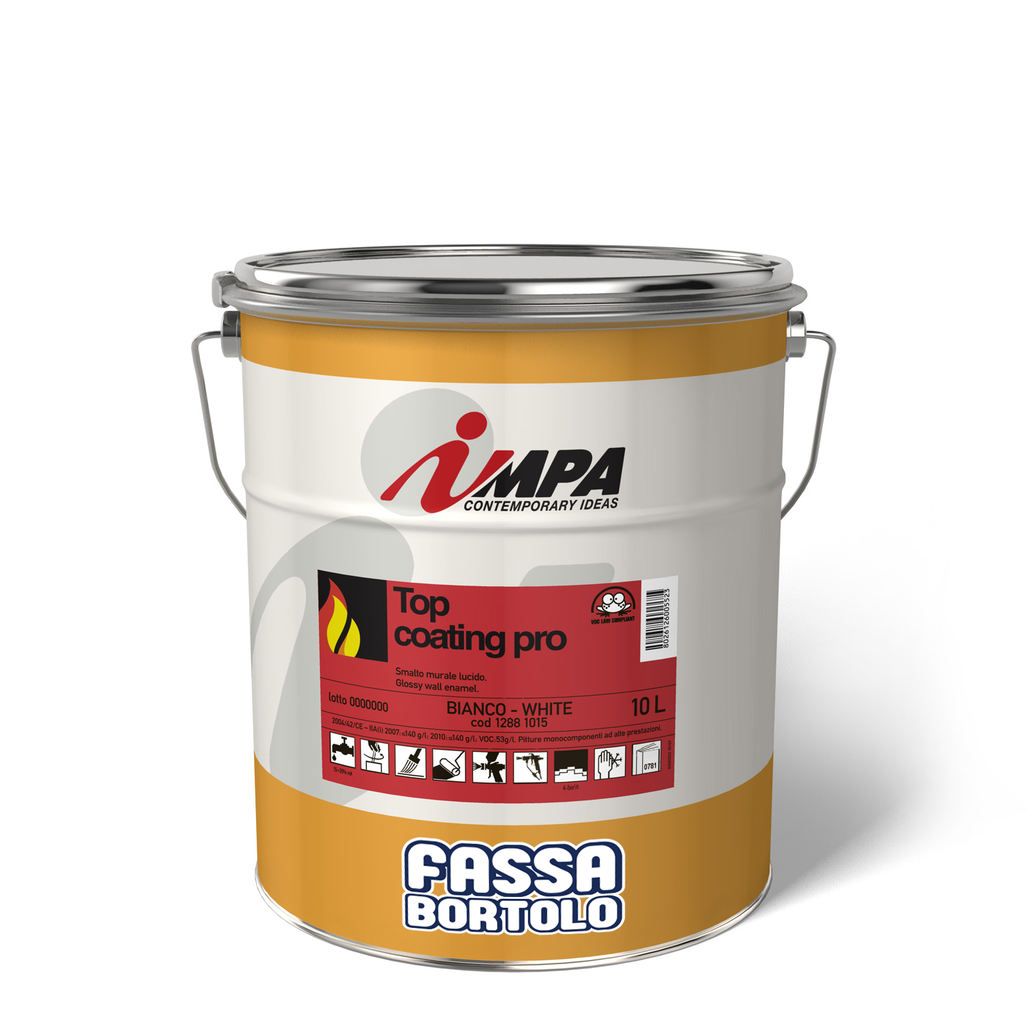 TOP COATING PRO: Finitura protettiva speciale per Barrier