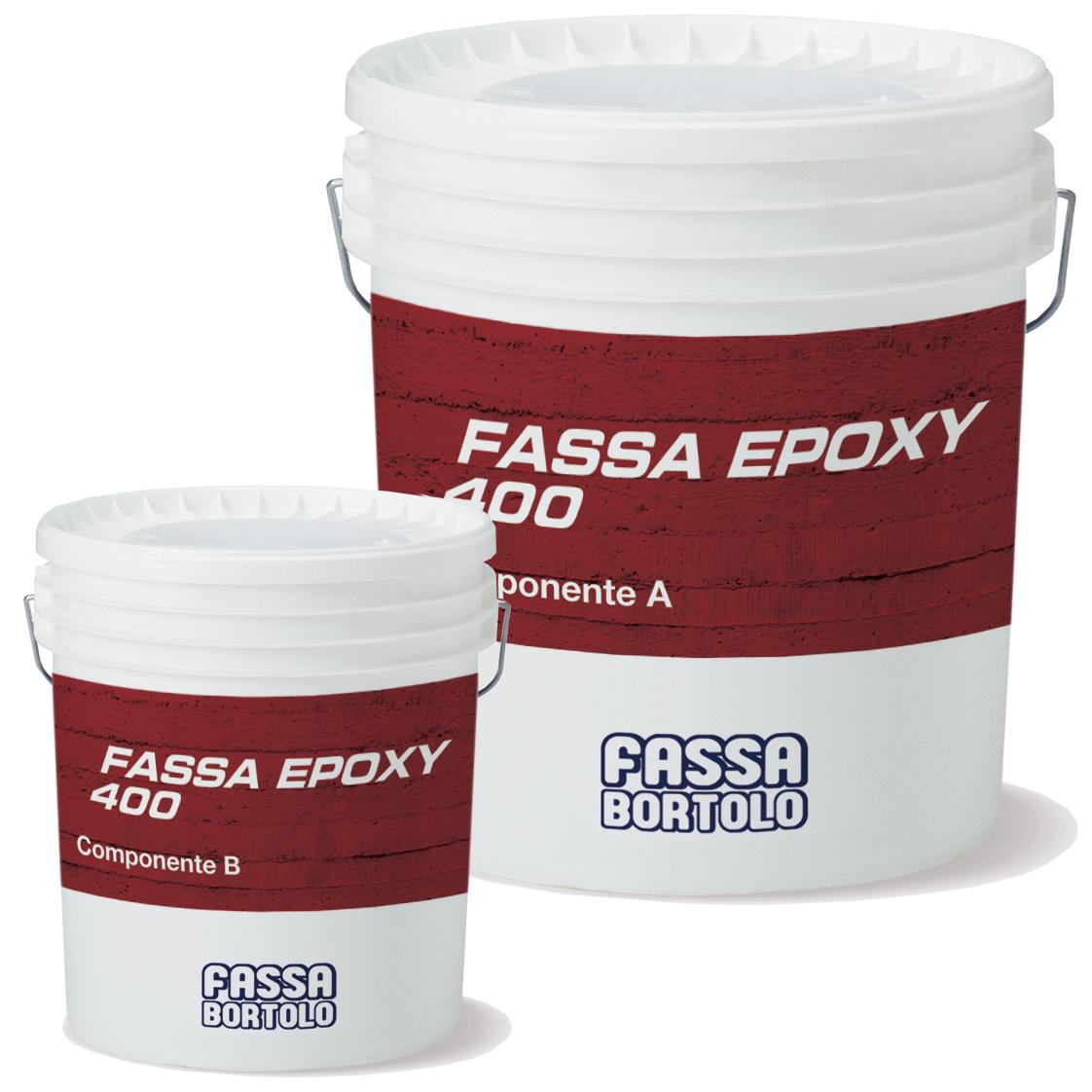 FASSA EPOXY 400: Stucco epossidico per la regolarizzazione di superfici, l'incollaggio strutturale e per la realizzazione di sistemi di rinforzo FASSAPLATE CARBON SYSTEM