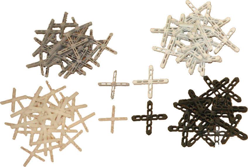 DISTANZIATORI A CROCE PER PIASTRELLE: Distanziatori a croce per piastrelle
