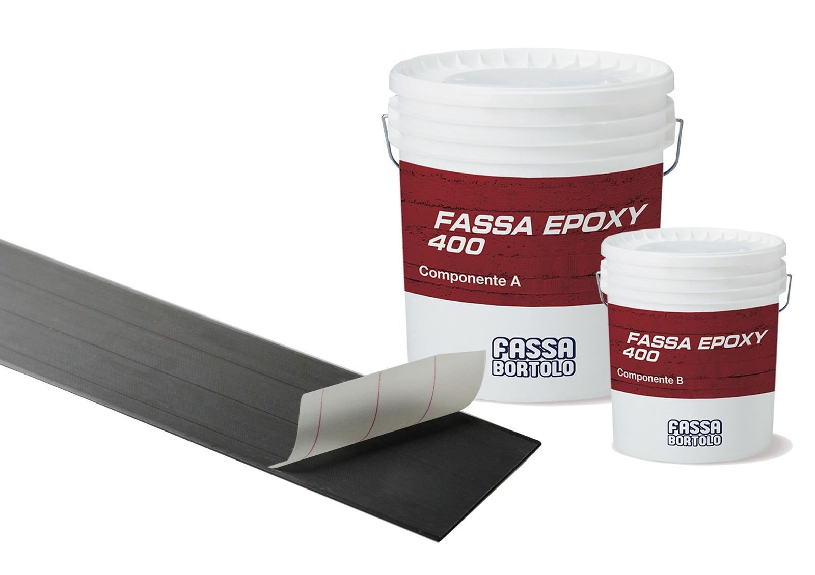 FASSAPLATE CARBON SYSTEM: Sistema di rinforzo strutturale FRP composto da una lamina pultrusa in fibra di carbonio ad aderenza migliorata e da un adesivo epossidico per l'incollaggio