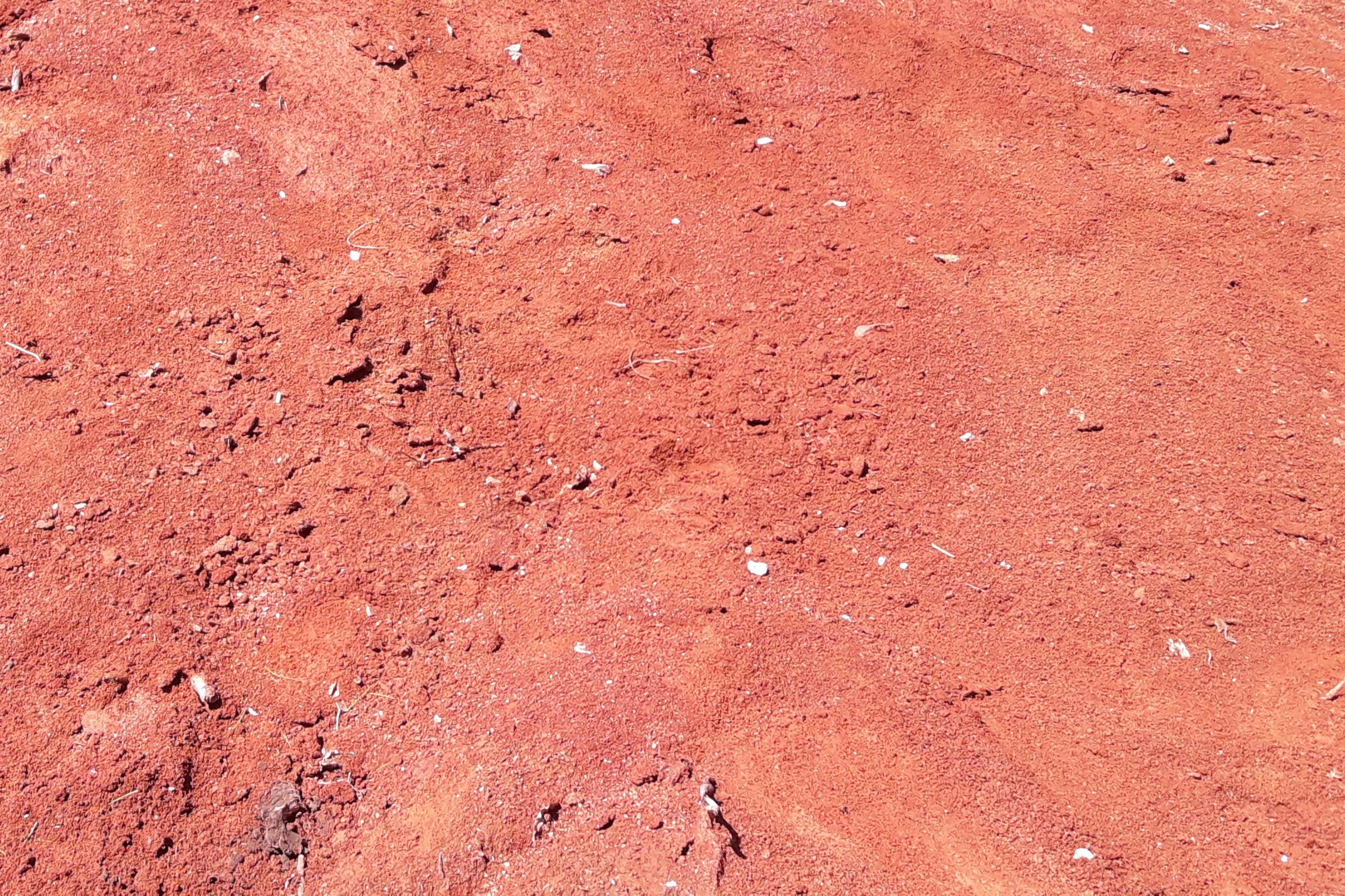 MATERIALE ARGILLOSO: Materiale sedimentario con granulometria estremamente fine di colore rosso ocra, ottenuto dalla scopertura dei giacimenti di rocce calcaree.