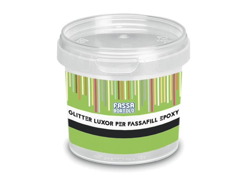 GLITTER LUXOR PER FASSAFIL EPOXY: Glitter per l'additivazione del FASSAFILL EPOXY