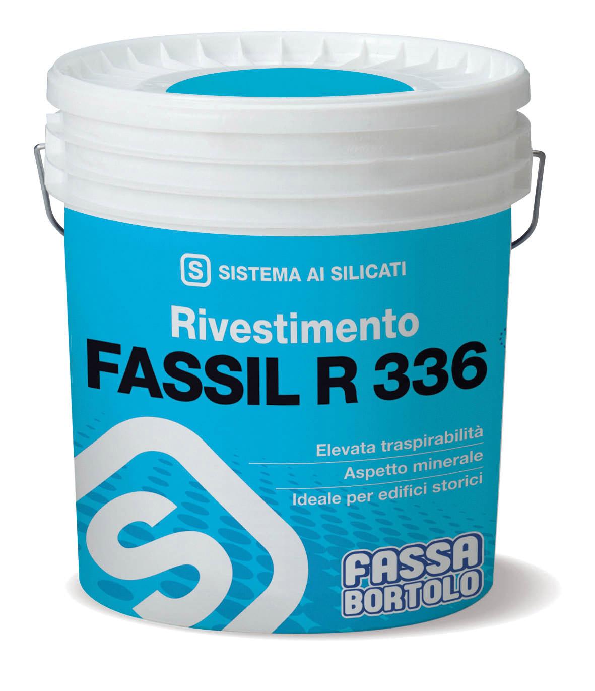 FASSIL R 336: Rivestimento minerale ai silicati rustico