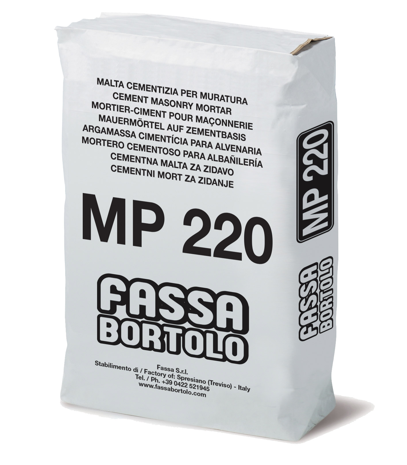 MP 220: Malta cementizia ad alta resistenza per muratura