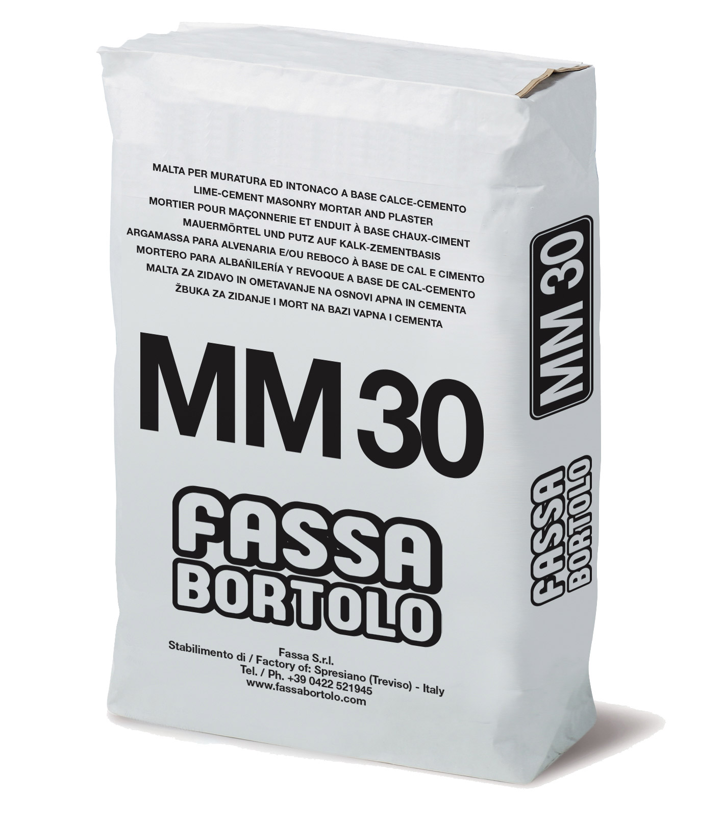 MM 30: Malta cementizia per muratura