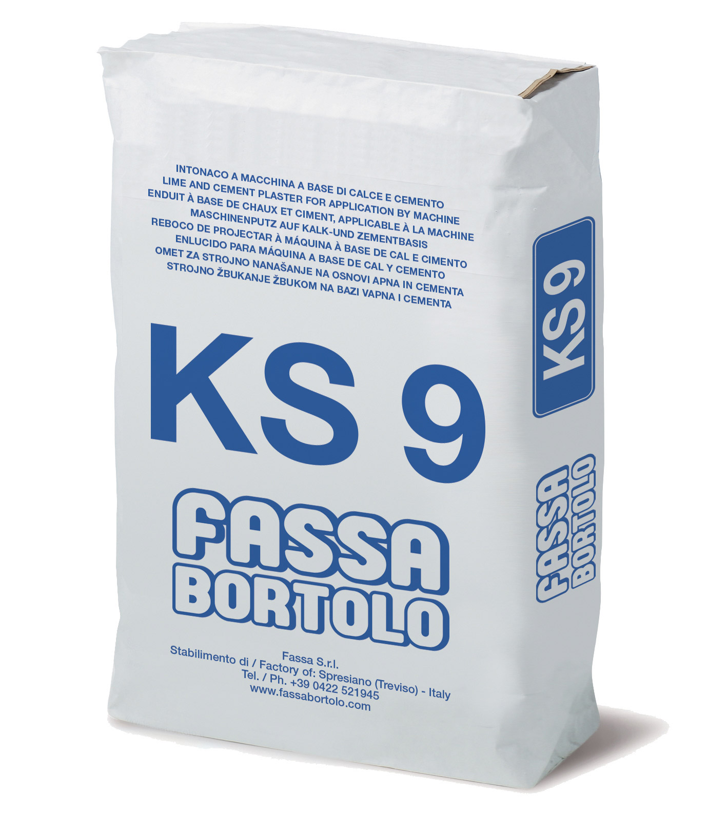 KS 9: Intonaco di fondo a base di calce e cemento per interni ed esterni