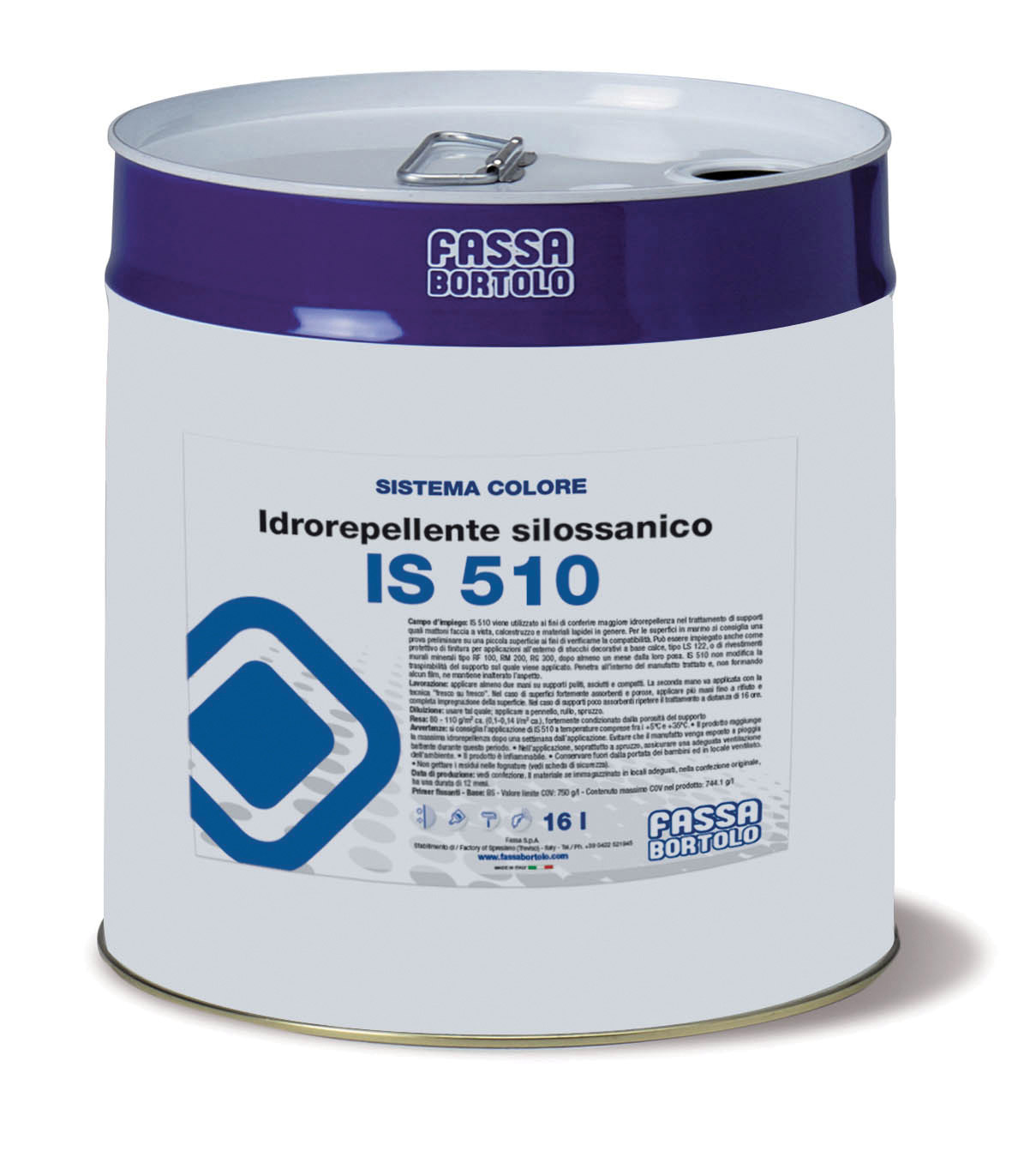 IS 510: Idrorepellente silossanico