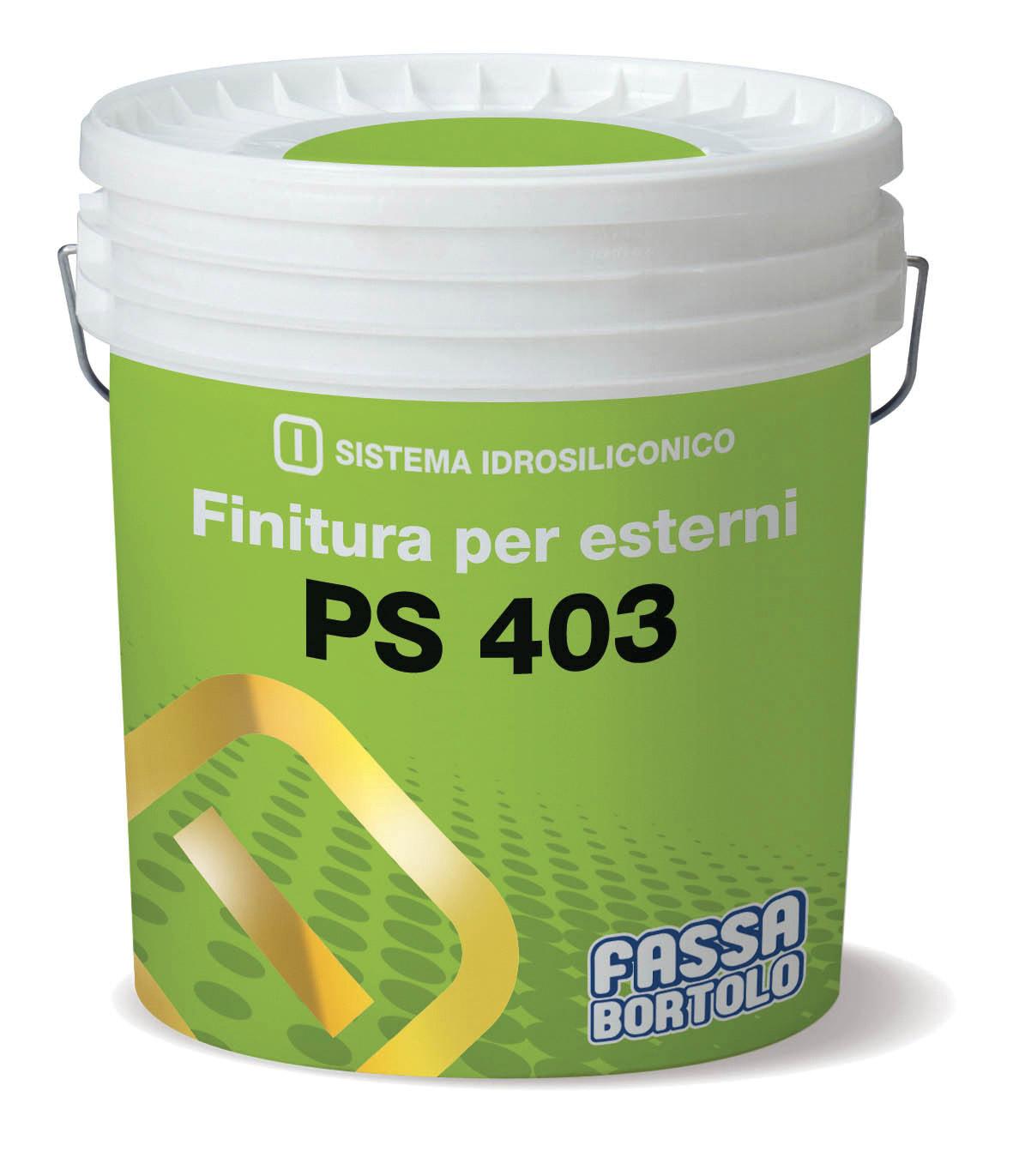 PS 403: Finitura altamente traspirante