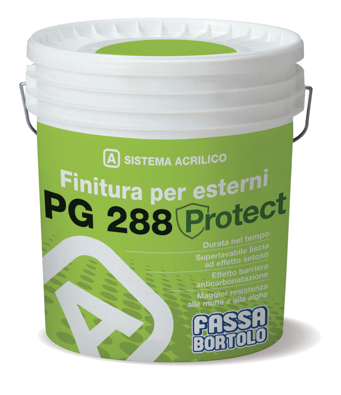 PG 288 PROTECT: Finitura liscia opaca per esterni