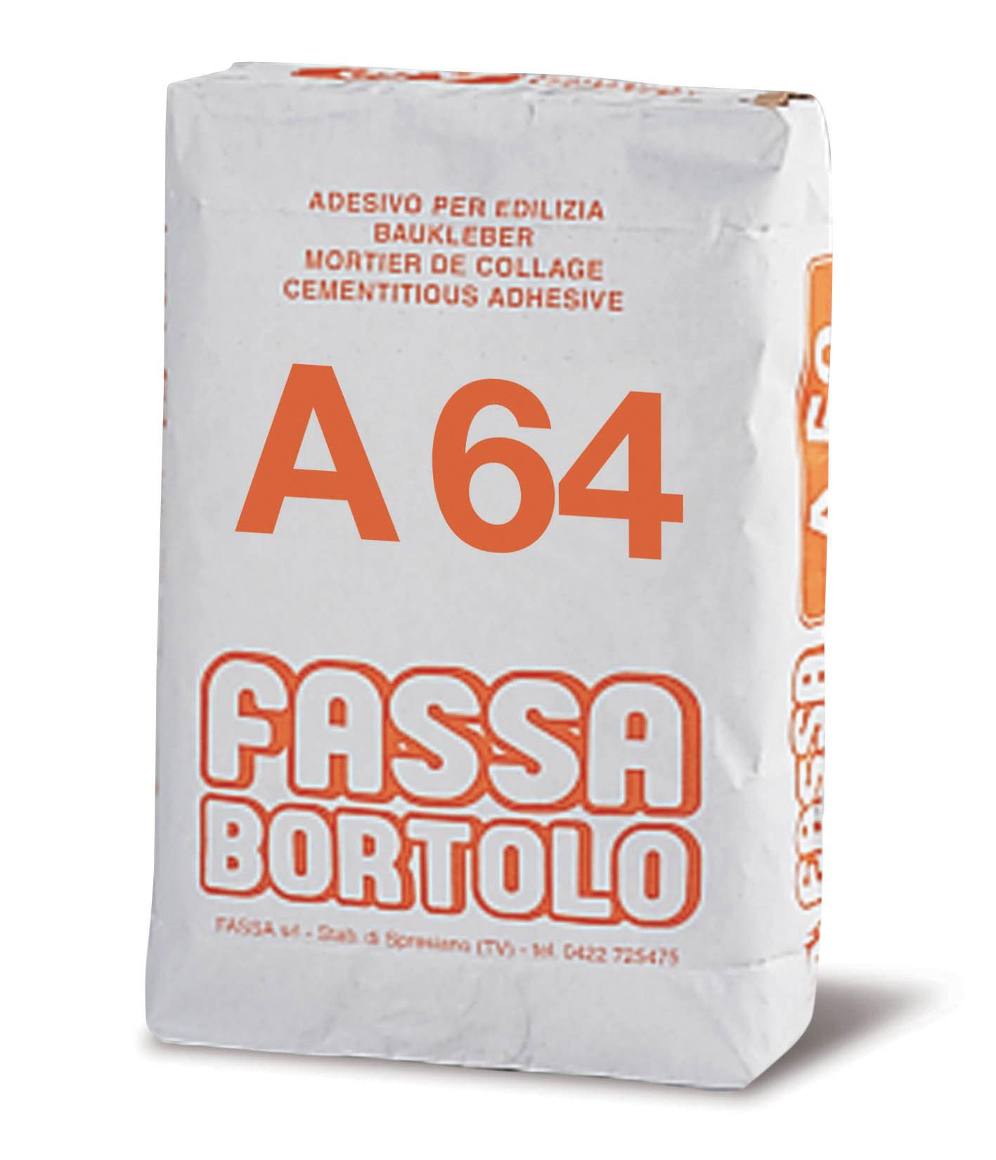 A 64: Rasante edile a base di calce e cemento bianco