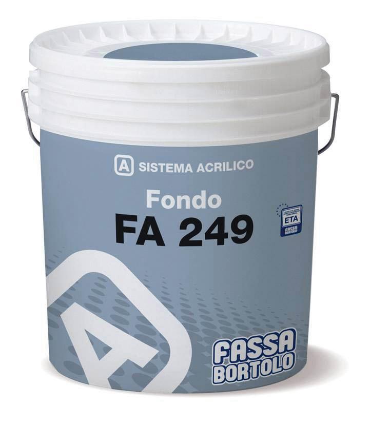 FA 249: Fissativo per sistemi acrilici