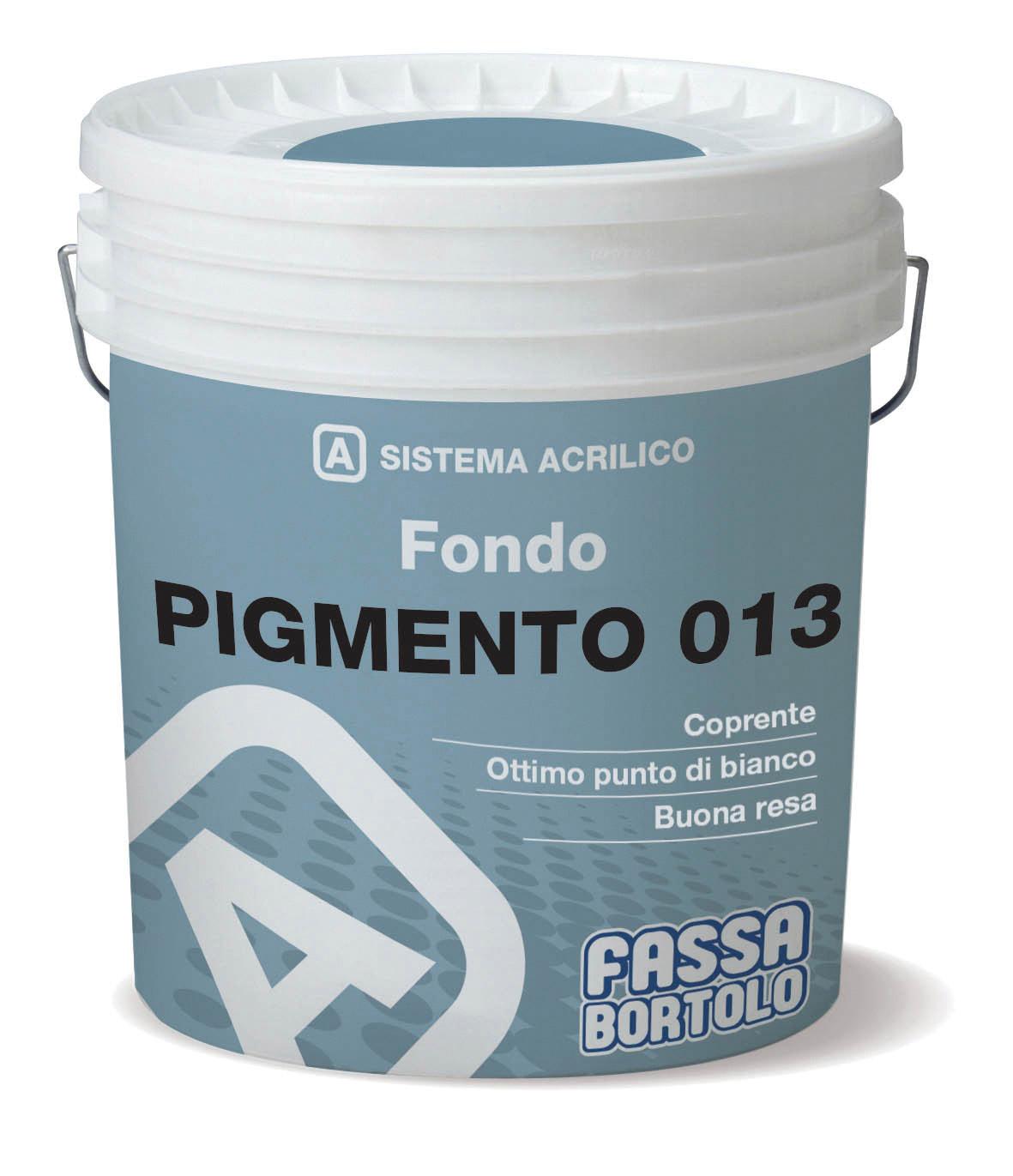 PIGMENTO 013: Fondo pigmentato per interni