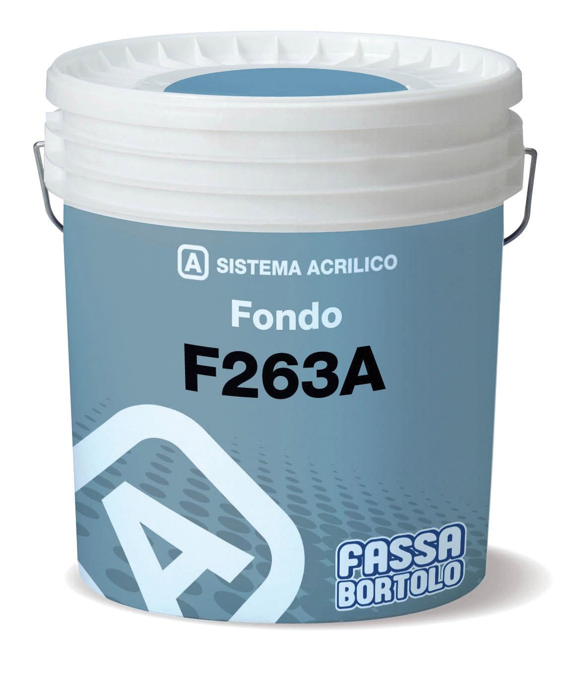 F 263A: Fondo riempitivo ad effetto intonaco fine per esterni ed interni