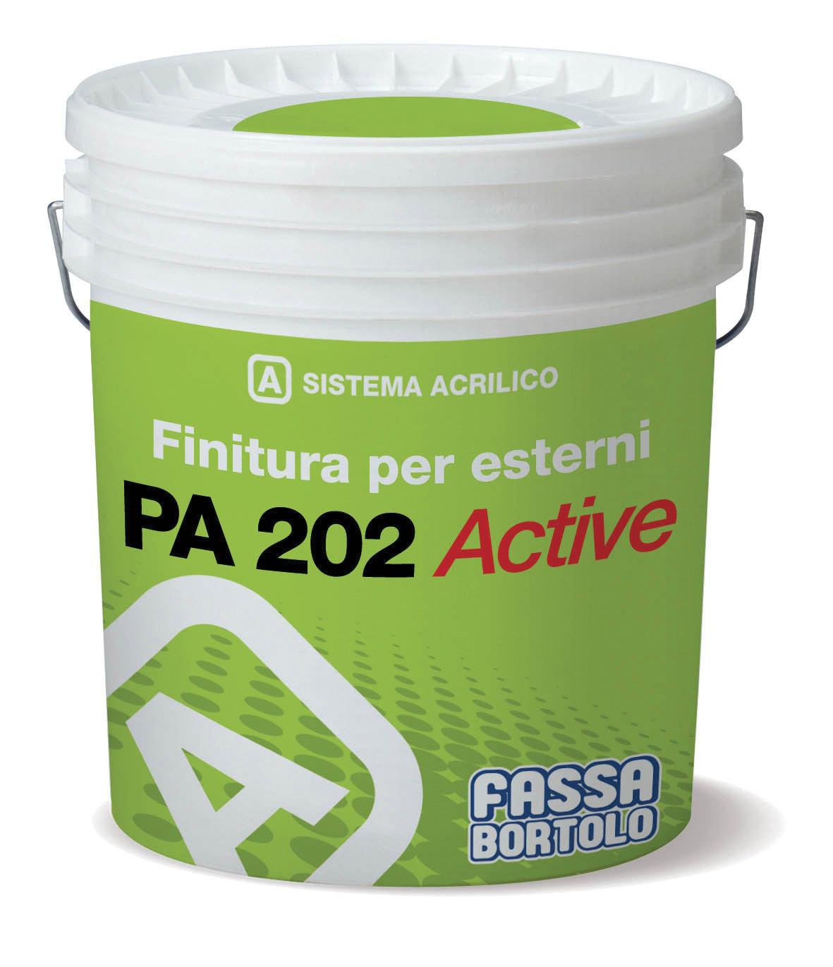 PA 202 ACTIVE: Finitura protettiva riempitiva
