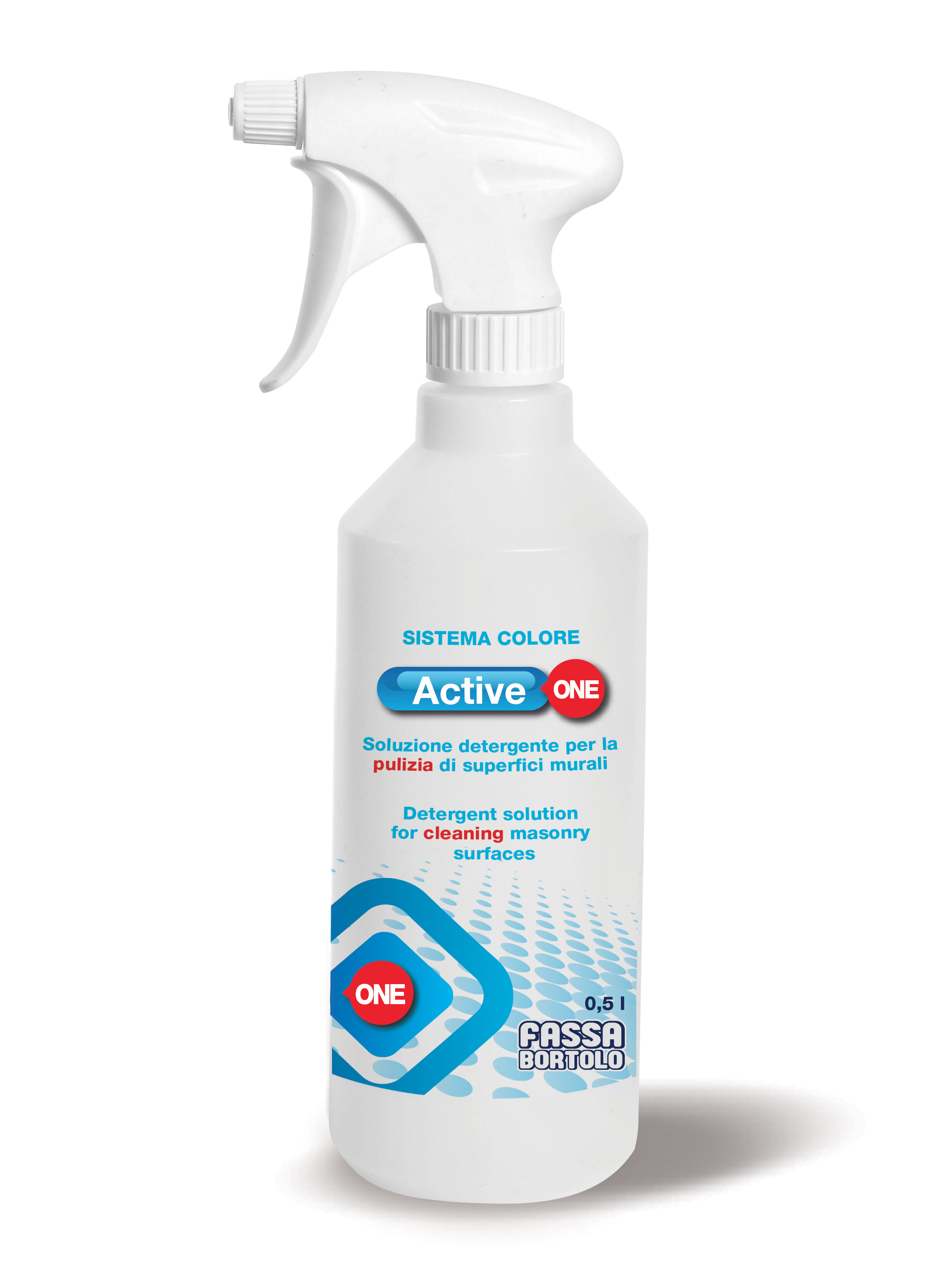 ACTIVE ONE: Soluzione detergente per la pulizia di superfici murali