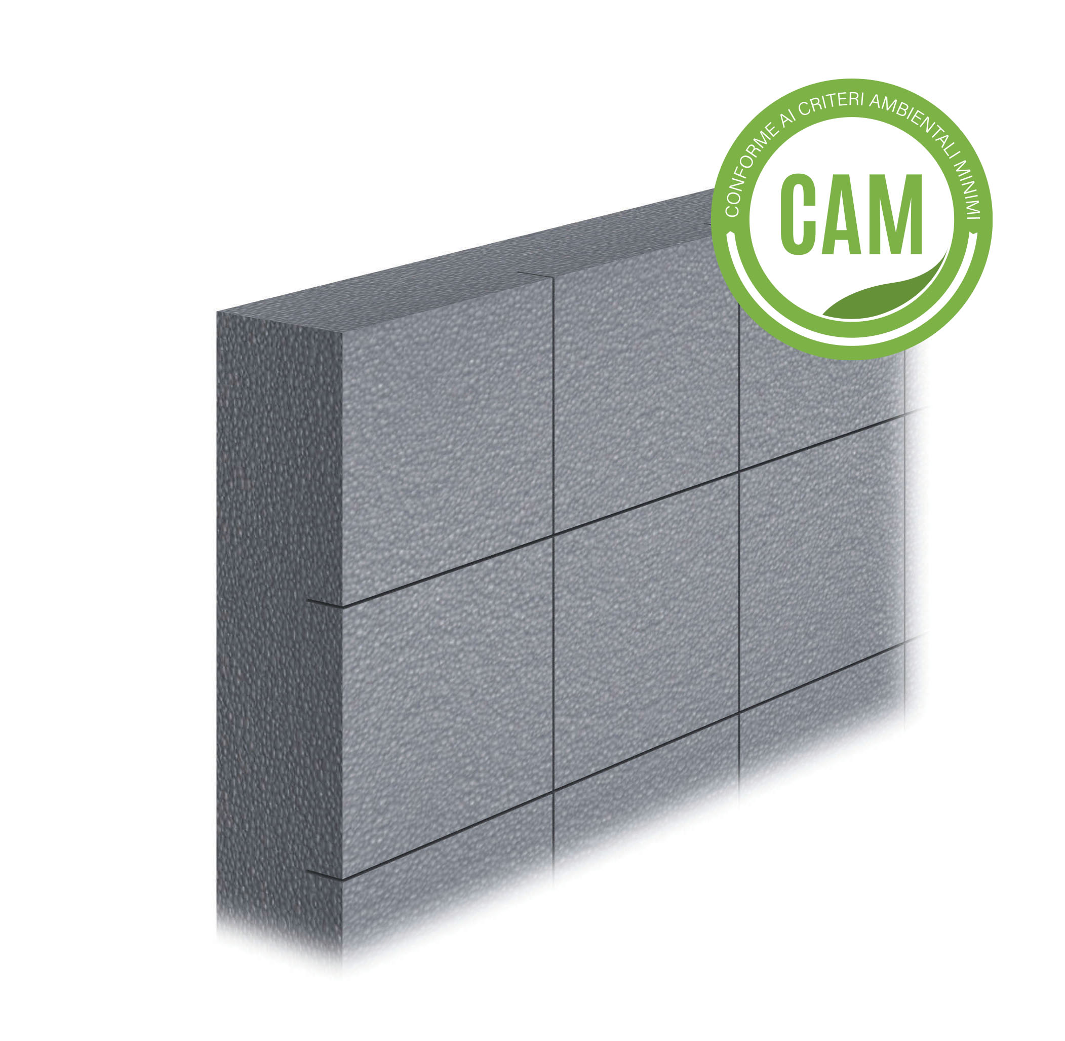 LASTRA EPS SILVERTECH 031: Lastra isolante stampata in EPS additivato con grafite, con conducibilità termica 0.031 W/(m·K).Conforme ai CAM