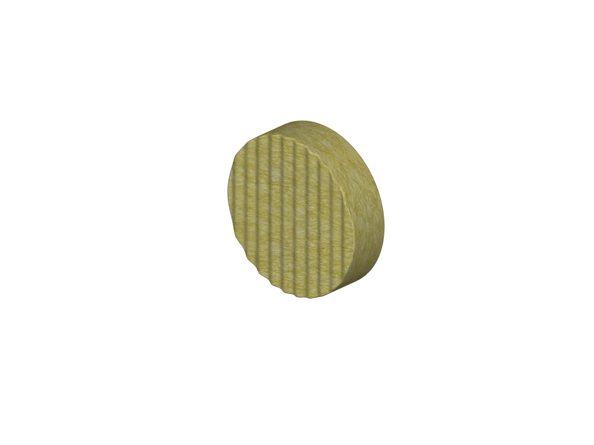 RONDELLA IN LANA DI ROCCIA: Tappo isolante in lana di roccia per tassello FASSA TOP FIX 2G