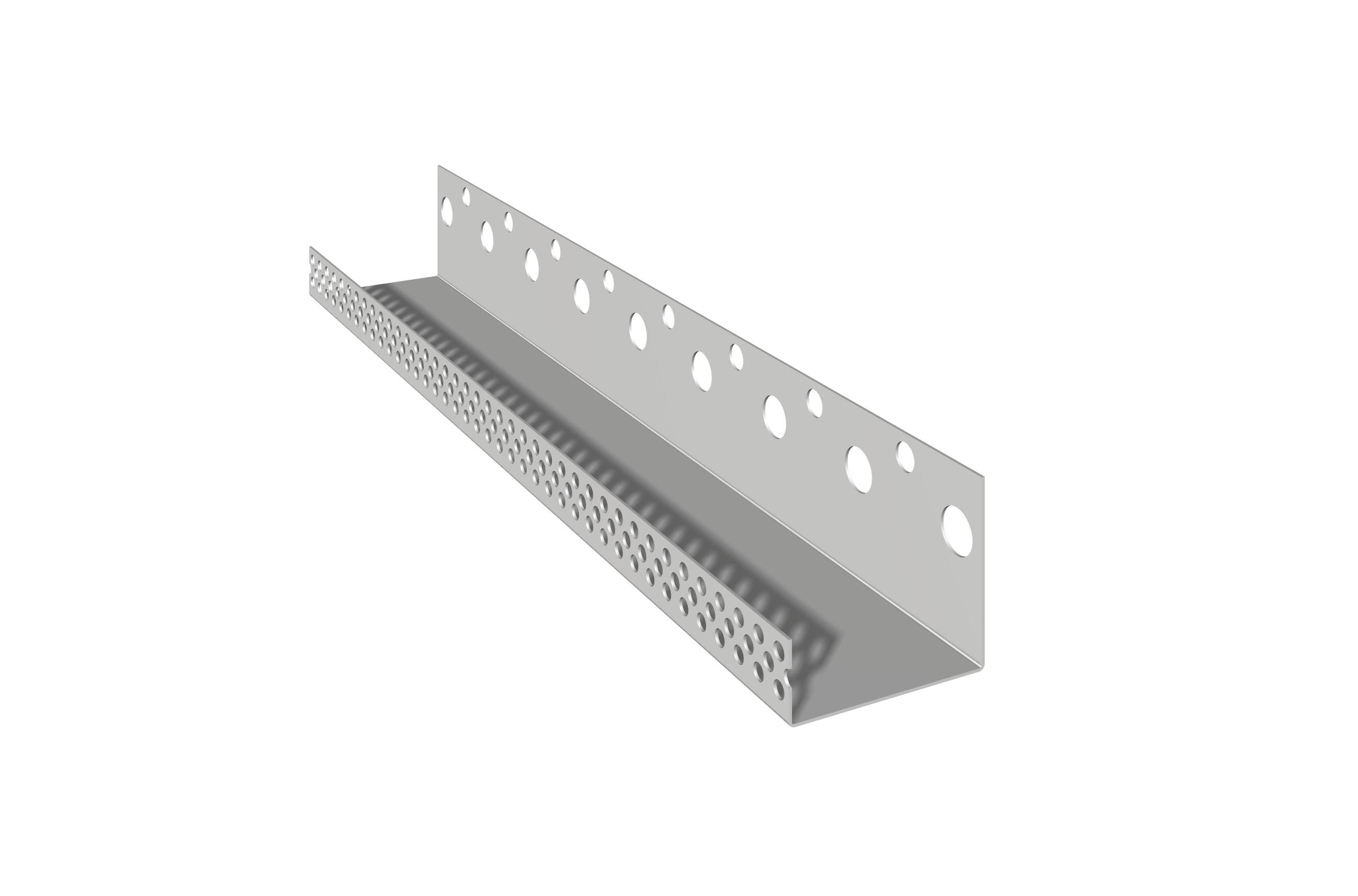 PROFILO DI CHIUSURA IN ALLUMINIO: Profilo di chiusura in alluminio preverniciato