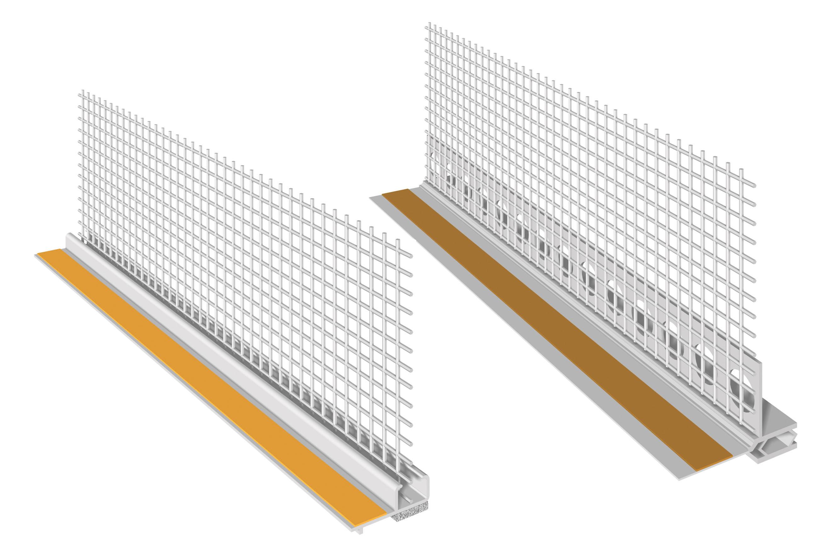 PROFILO PER INFISSI IN PVC: Profili in PVC con rete per infissi
