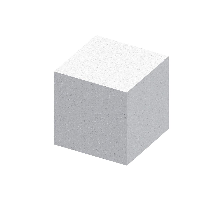FASSA QUADROLINE EPS: Supporto in Eps ad alta densità per il montaggio di supporti per grondaie, arresti per scuri, ecc.Disponibile fino a 300 mm di spessore