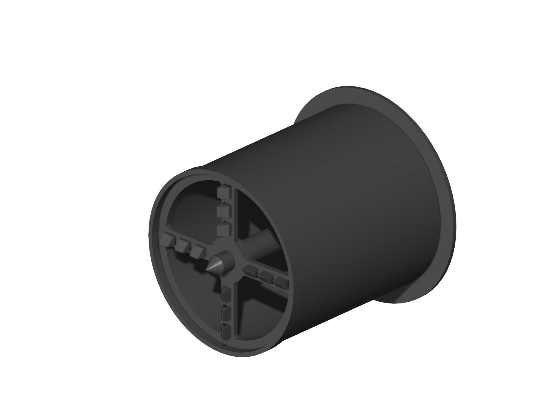 FRESA PER FASSA ZYRILLO: Fresa per rondella cilindrica in EPS