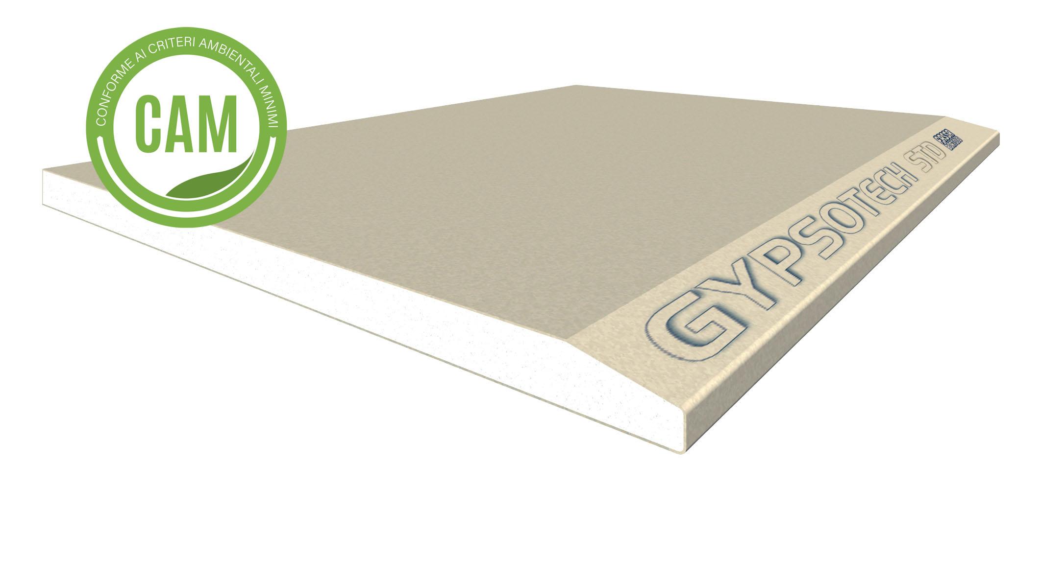 GYPSOTECH® STD TIPO A: Lastra in cartongesso