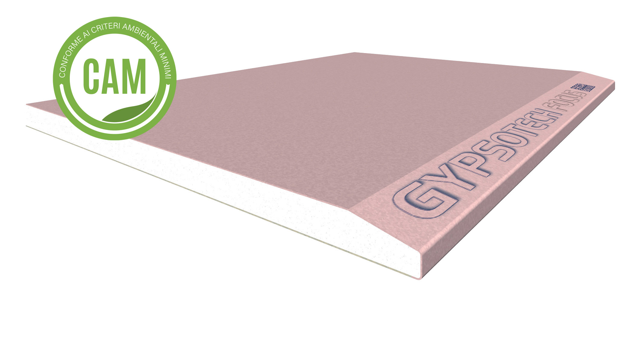 GYPSOTECH® FOCUS TIPO DFI: Lastra in cartongesso