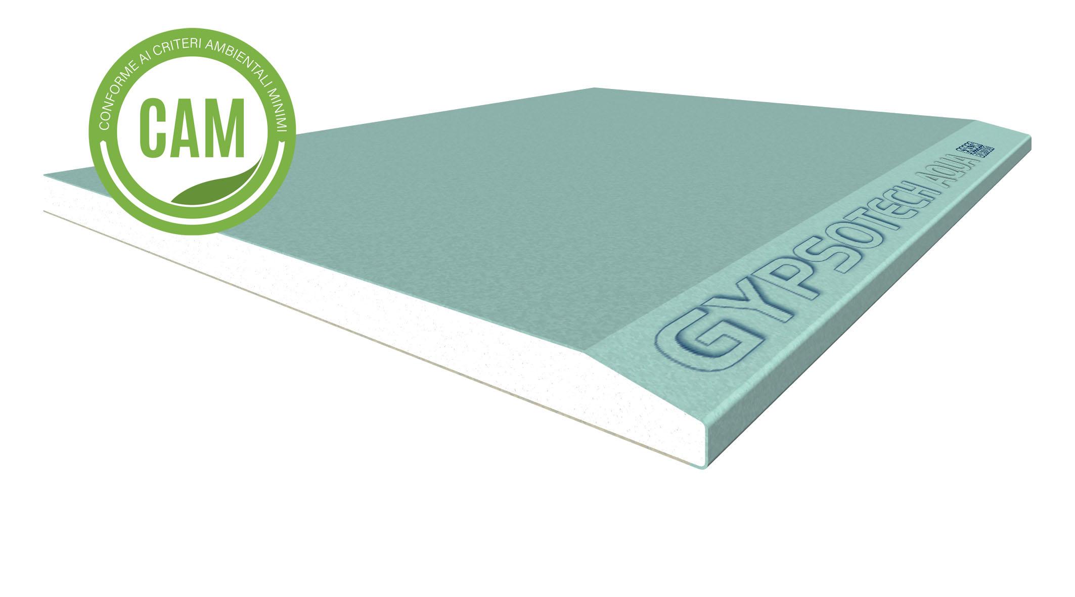 GYPSOTECH® AQUA TIPO EH2: Lastra in cartongesso