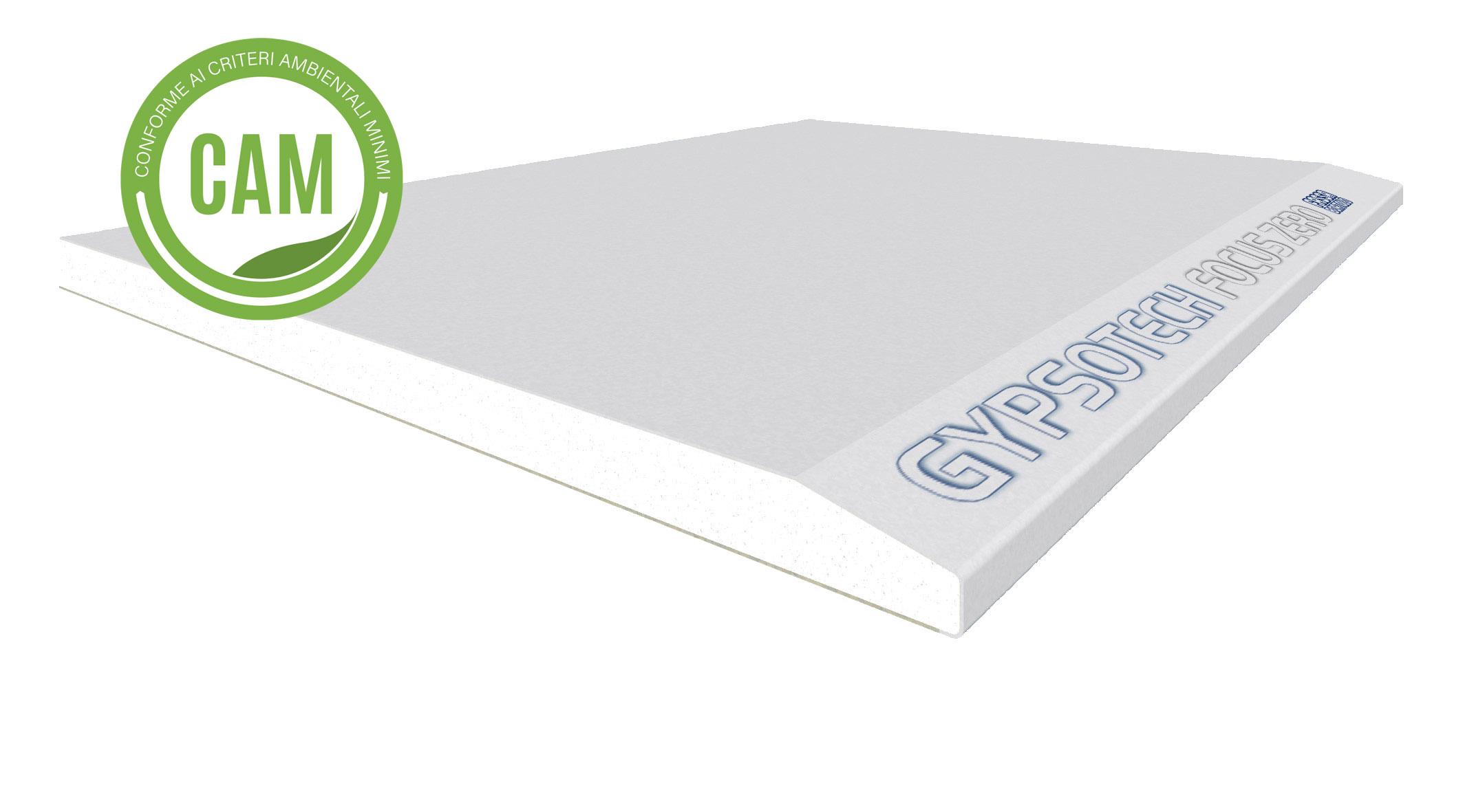 GYPSOTECH® FOCUS ZERO TIPO DFI: Lastra in cartongesso