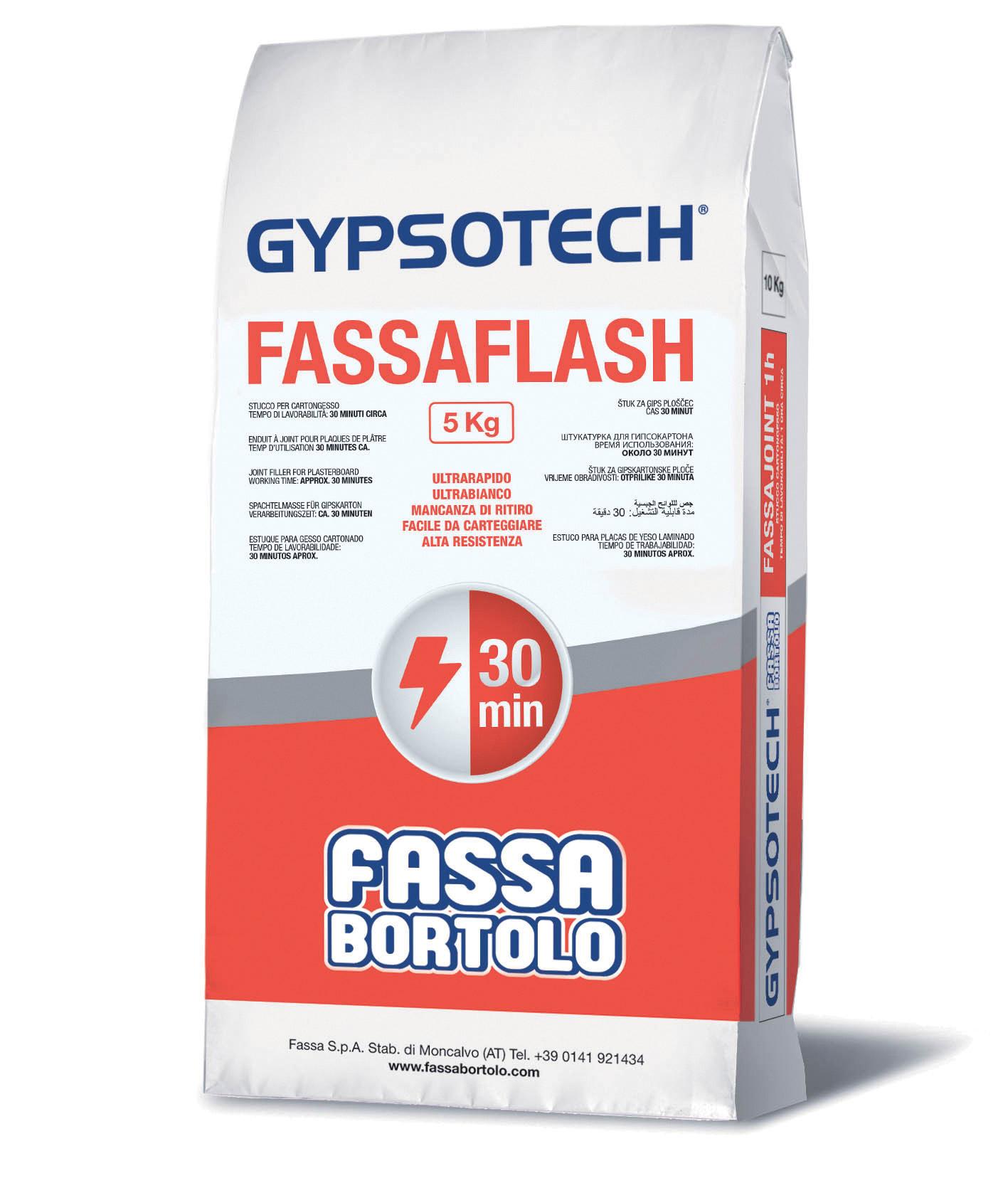 FASSAFLASH: Stucco per cartongesso