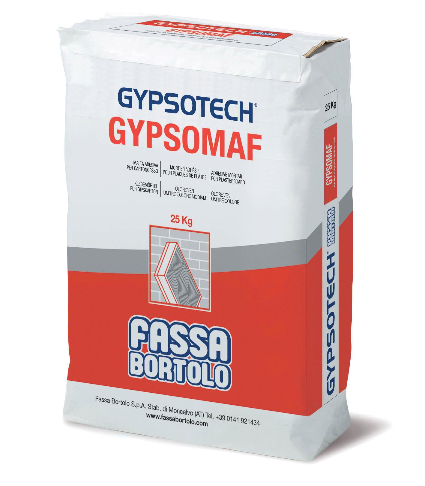 GYPSOMAF: Malta adesiva per cartongesso