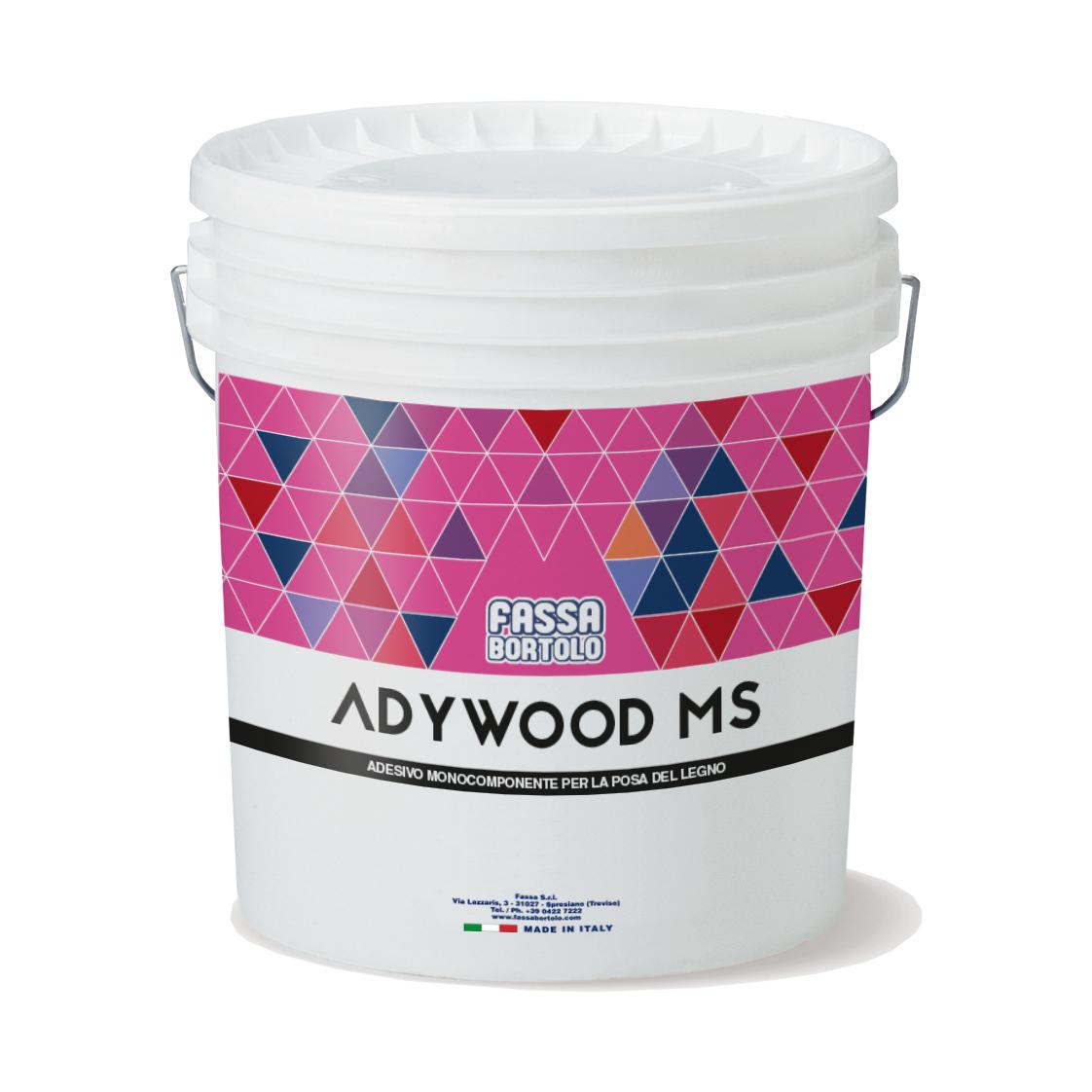 ADYWOOD MS: Adesivo monocomponente silanico per legno