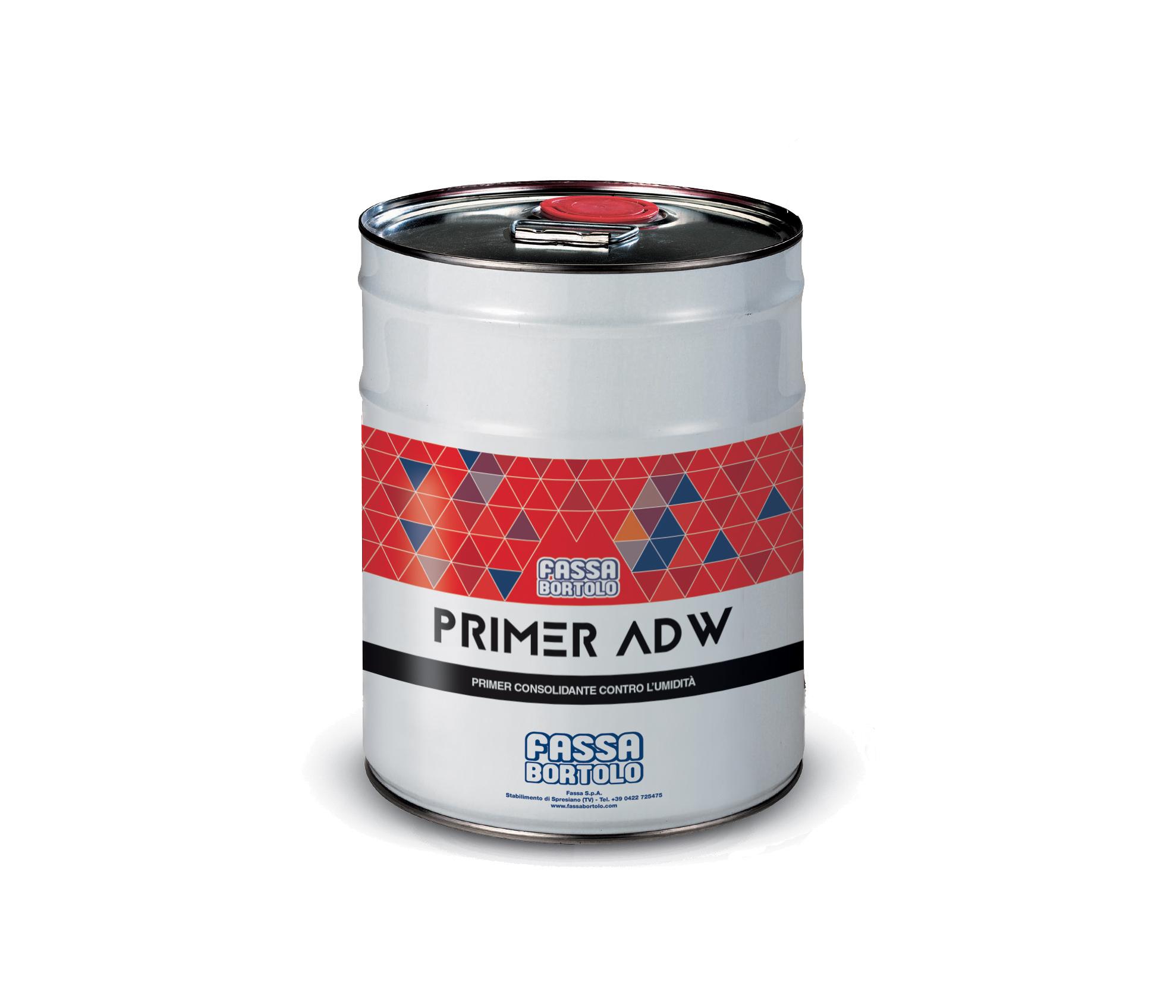 PRIMER ADW: Primer consolidante e impermeabilizzante poliuretanico per massetti