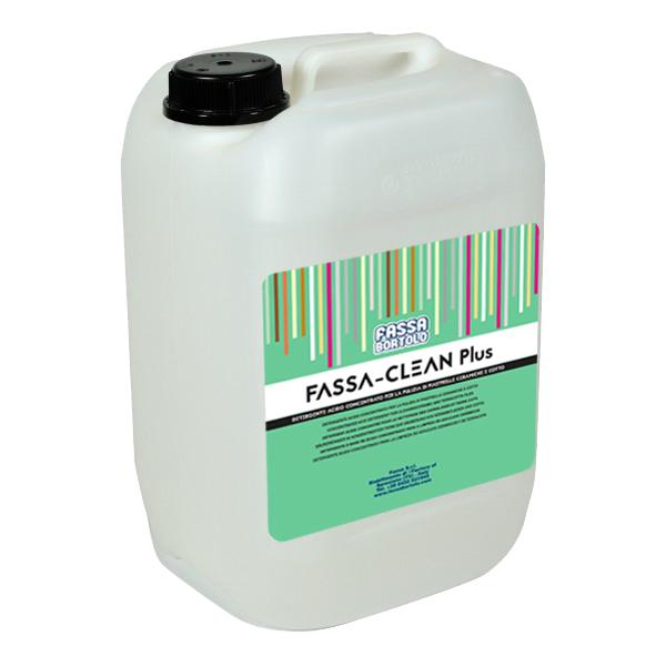 FASSA-CLEAN PLUS: Detergente acido concentrato per la pulizia di piastrelle ceramiche e cotto