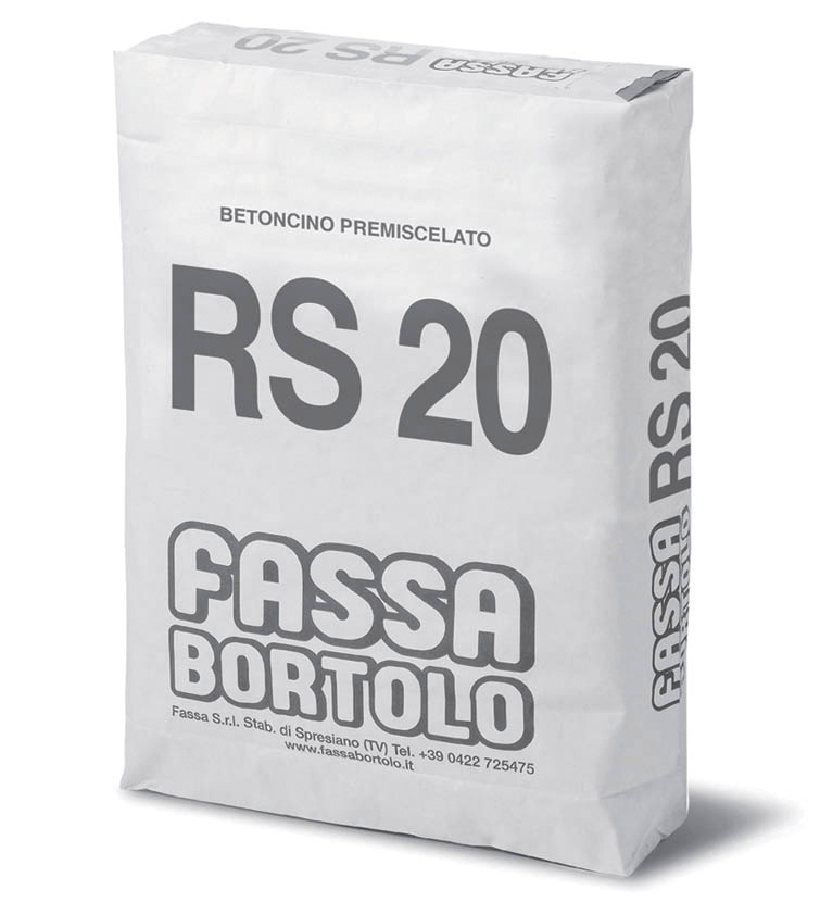 BETONCINO RS 20: Betoncino premiscelato