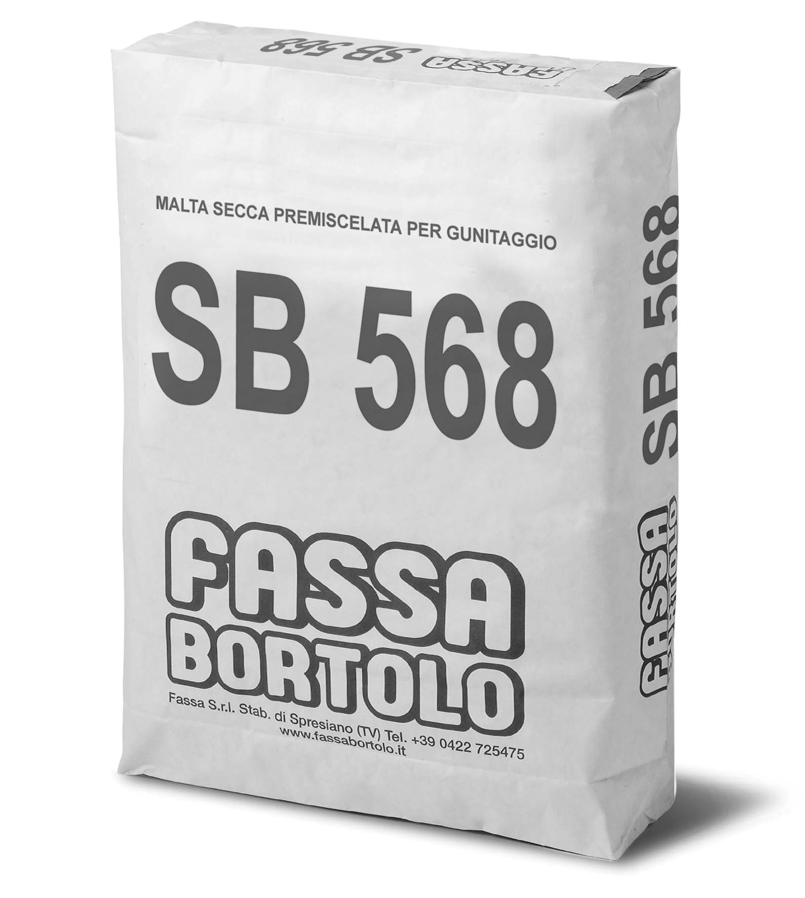 SB 568: Malta secca premiscelata per gunitaggio
