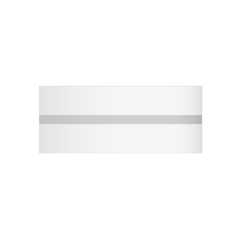 GypsoCOMETE Line: Elemento lineare (dimensioni 120x2.000 mm) costituito da cartongesso GypsoARYA HD BA13 con integrato profilo in alluminio estruso, per inserimento