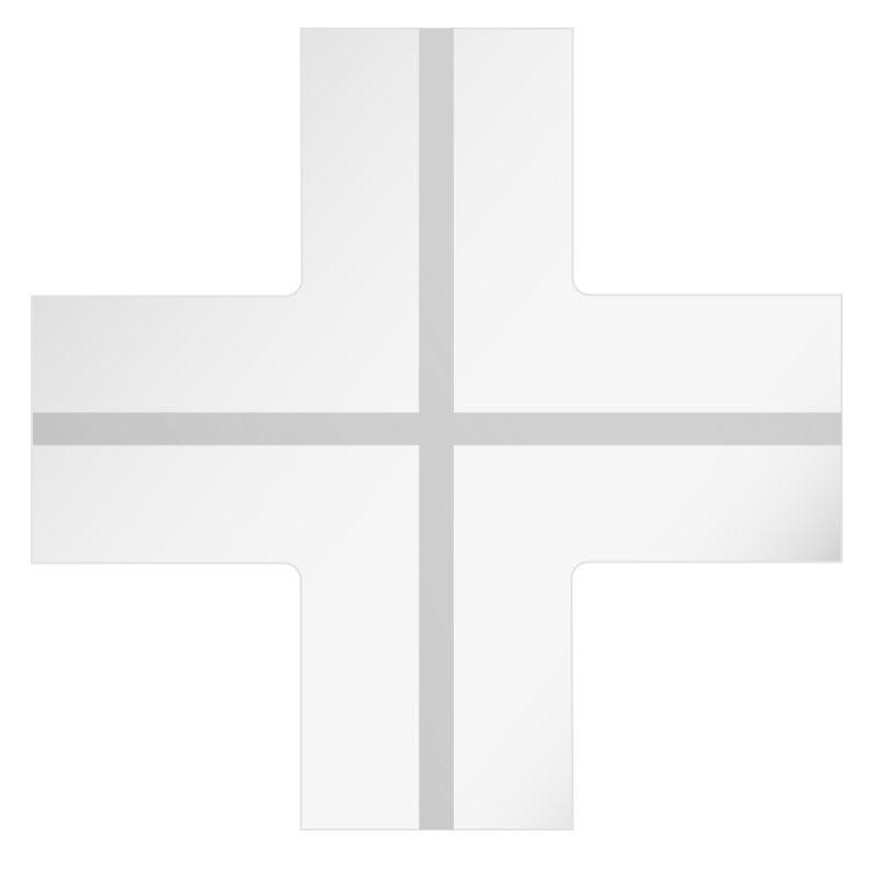 GypsoCOMETE Star: Elemento di raccordo a