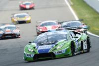 La Lamborghini targata Fassa a SPA - GT Open International