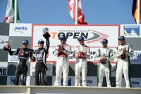 Il podio del Team Imperiale Fassa al Paul Ricard