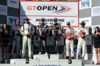 Thomas Biagi sul podio del GT Open Hungaroring