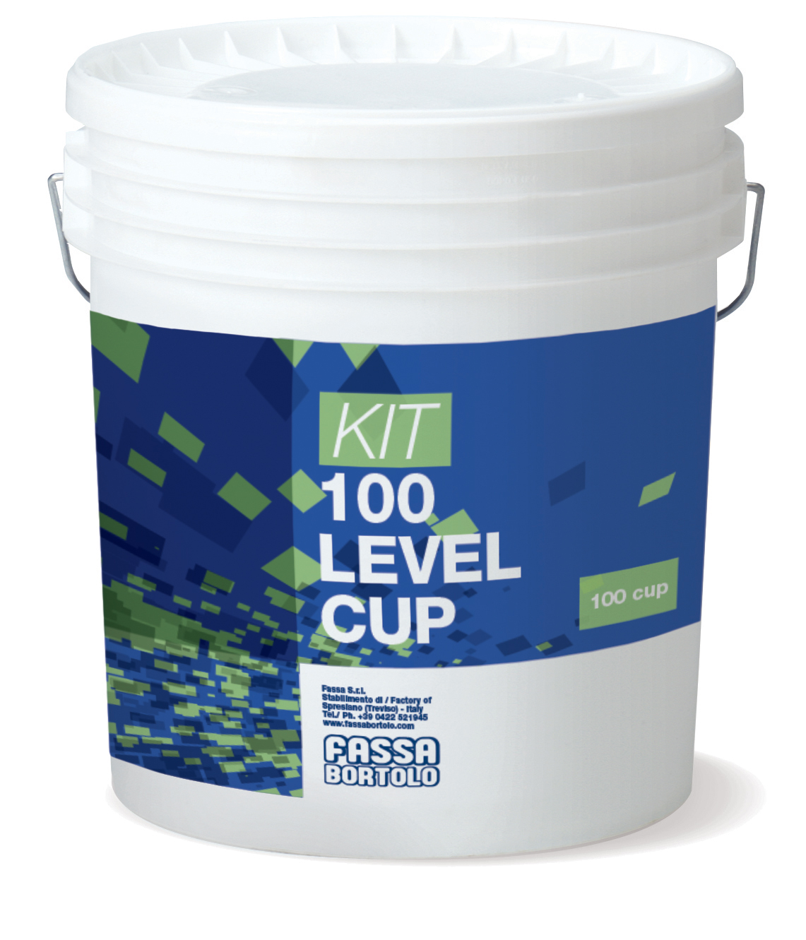 KIT 100 LEVEL CUP: Kit composto da 100 ricambi Cup