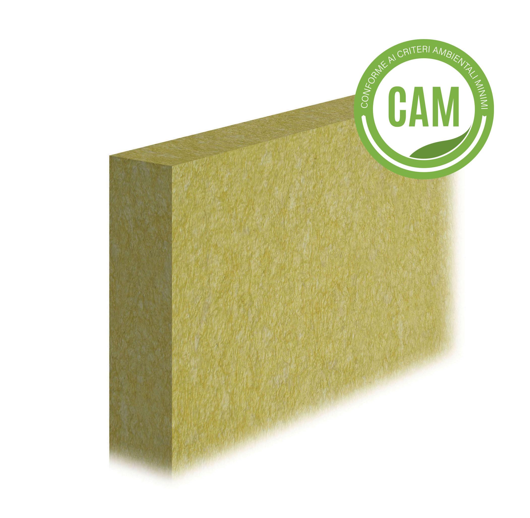 LASTRA ISOLANTE IN LANA DI ROCCIA 034: Lastra per isolamento termico in lana di roccia con conducibilità termica 0,034 W/(m·K)